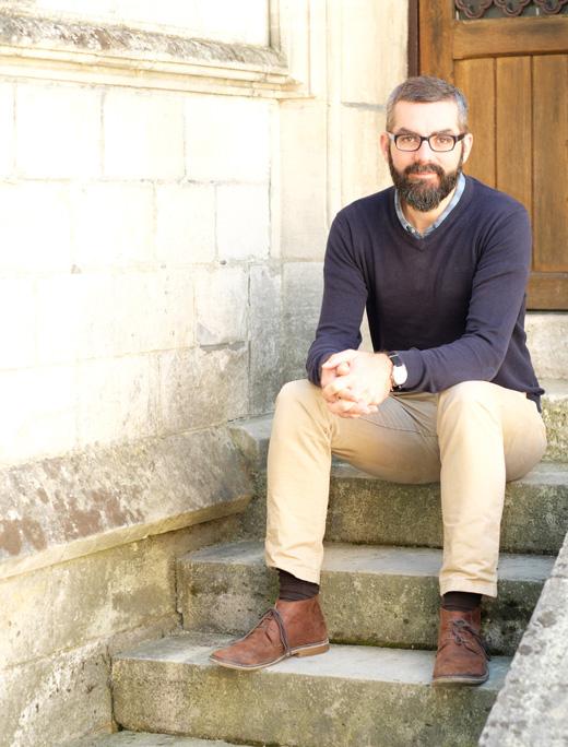 Nicolas Farelly, pasteur de l'église évangélique baptiste de Compiègne