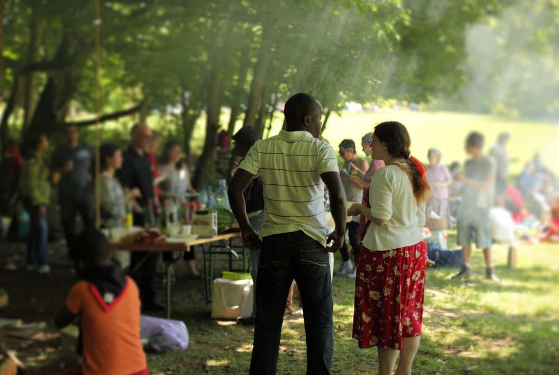 barbecue et convivialité en plein air